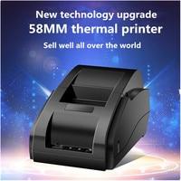 Free shopping 58MM mini thermal printer takeaway catering supermarket clothing bar code LOGO retail POS Cashier receipt printer