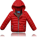 Retail 2015 New Hot Fashion Winter Boy Coat Boys Duck Down Jacket Kids Winter Duck Down Cotton Coat Hooded Active Style