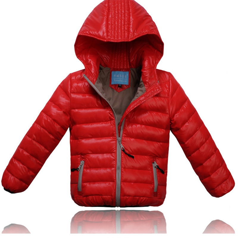 ФОТО Retail 2017 New Hot Fashion Winter Boy Coat Boys Duck Down Jacket Kids Winter Duck Down Cotton Coat Hooded Active Style