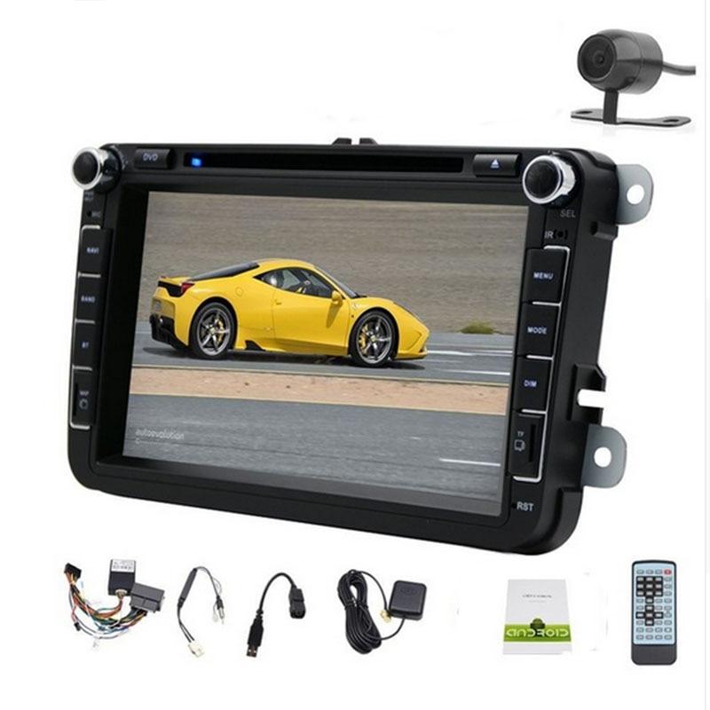 Android 8.0 2 din dvd de voiture vw GOLF 6 nouvelle polo nouvelle Bora JETTA MK4 B6 PASSAT Tiguan SKiODA OCTAVIA Fabia lecteurs vidéo stéréo radio
