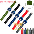 21*18MM Silicone Rubber Watchband Fashion Sport Watches Band Watch Strap with Steel Buckle For Huawei Smart Watch Wristband