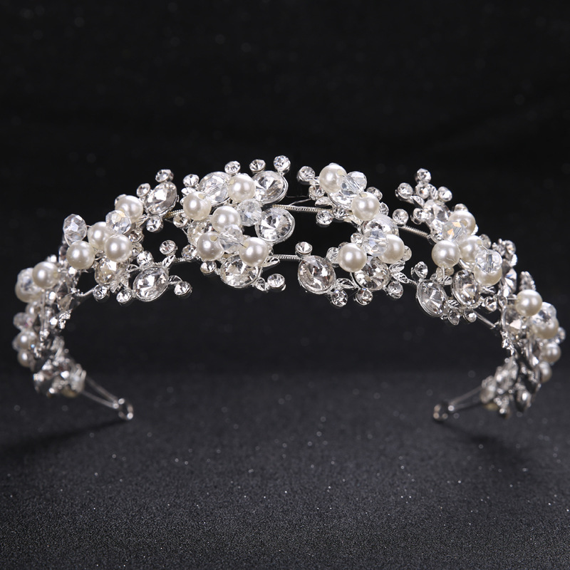 Back To Search Resultsapparel Accessories 2018 Flower Headband For Women Crystal Wedding Accessories Bridal Headpieces Accesorios Para El Cabello Bandeau Cheveux Red Hot Delaying Senility