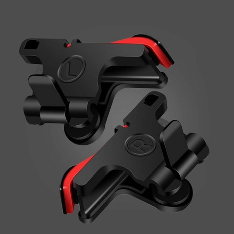 Mobile Game Controller Gamepad plasticL1R1 Mobile Phone Joystick Sensitive Shoot and Aim Triggers for PUBG/Knives Out/Rules of S Karachi