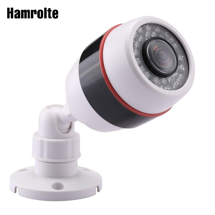 Hamrolte panorámica cámara IP 1080 p Hi3516E 20fps 5MP 1.7 fisheye lente gran angular seguridad al aire libre cámara de detección de movimiento xmeye