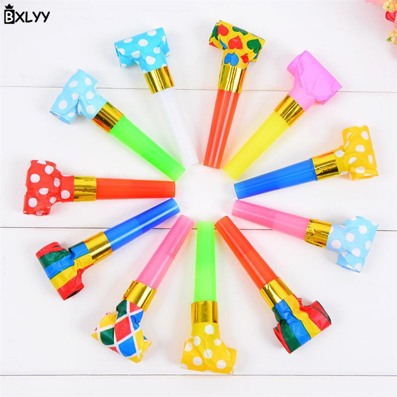 BXLYY Blowing Dragon Children's Toys Birthday Party Cheering Props Noise Manufacturing Party Supplies Baby Shower Christmas.8z(China)