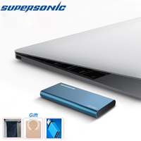 Supersonic P20 Portable Solid State Drive 128GB 256GB 512GB 1TB 2TB Typc C USB3.0 External SSD for Computer Laptop Android phone