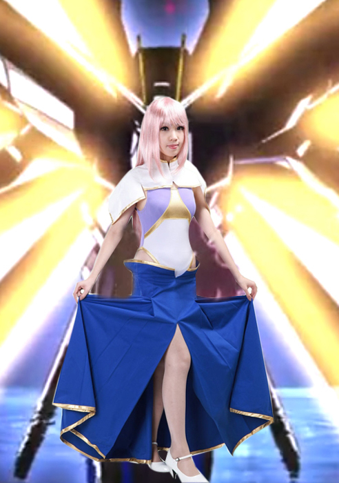 Free Shipping Gundam Seed Destiny Meer Campbell Anime Cosplay Costume