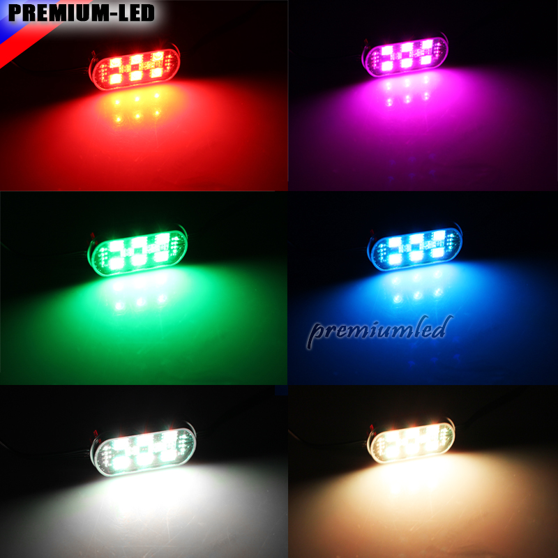 (6) Pods 7 Color RGB LED Underbody U0026 Interior Car Accent Lighting Kit  (Include Wireless Remote Control) In Signal Lamp From Automobiles U0026  Motorcycles On ...