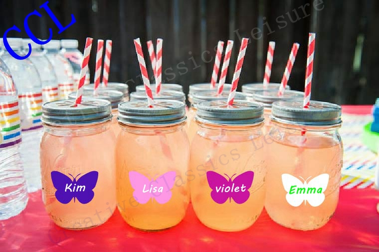 24 Crown Labels For Drink Cup Mason Jar Y Chalk Sticker Diy Royal Tea Party Princess Birthday Favor Baby Shower Idea In Wall Stickers From Home