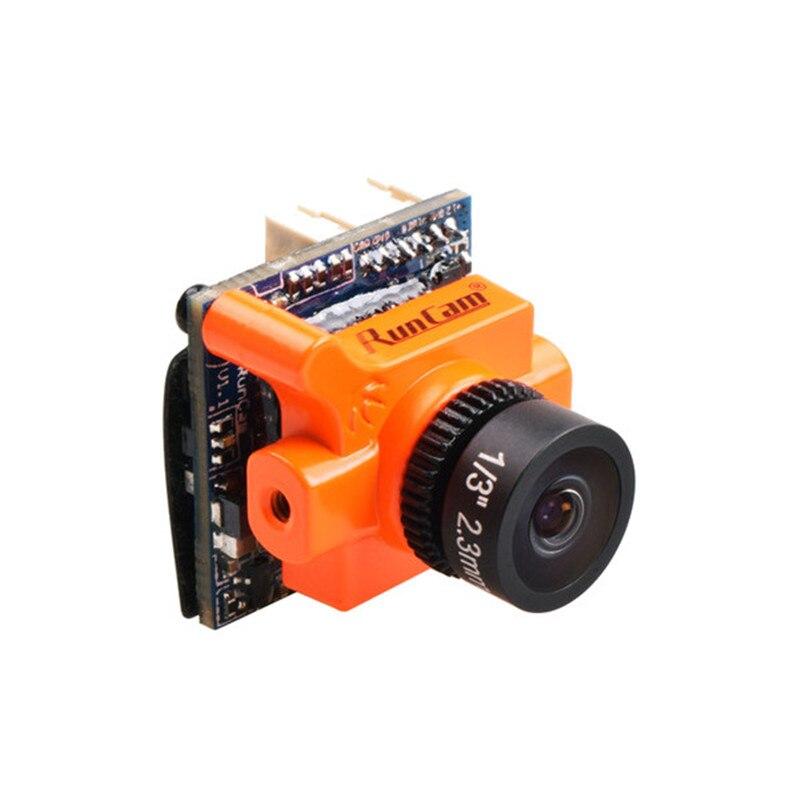 RunCam Micro Swift 2 600TVL 2.1mm/2.3mm FOV 160/145 Degrés 1/3 ''CCD FPV Caméra avec Haut- OSD