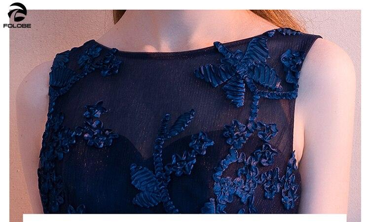 Color Marine Élégant Femme Femmes Robes Folobe Picture Floral Bleu Sexy Unie 2019 Haut Bas Parti Robe wZEnBqF