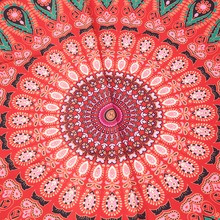 Yoga Mats Multicolor Round Beach Pool Home Shower Towel Blanket Table Cloth Yoga Mats Activing free shipping