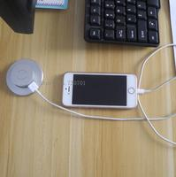 Furniture USB socket with cable male and female USB plug hidden in the furniture charging function for mobile pad device