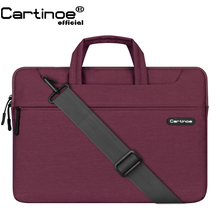New Arrival Cartinoe Laptop Bag 11 12 13 14 15 Laptop Sleeve Notebook Shoulder Messenger Bag for Macbook Air 11 Case Pro 13 15 2018 new brand bag for laptop 13 14 15 15 6 sleeve case for macbook notebook air pro 13 3 15 4 free drop shipping l2 08
