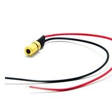 Мини ИК инфракрасный лазерный точечный диод 780 нм 3 мВт 3 в модуль 6x10 мм со встроенным драйвером