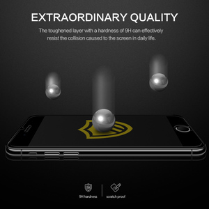 Image 4 - SmartDevil screen protector for iphone X Xs Max Xr 2.5D Curved Tempered Glass for iphone 6 6s Plus 7 Plus 8Plus Screen Protector