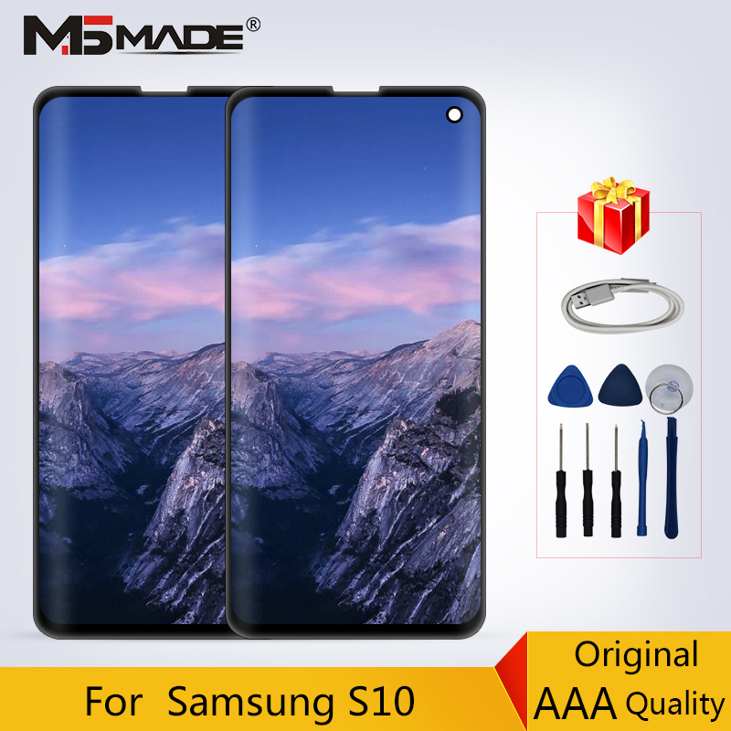 Original For Samsung Galaxy S10 G9730 LCD Touch Sreen Digitizer Perfect Display Replacement Parts For SM-G9730 LCD No ShadowOriginal For Samsung Galaxy S10 G9730 LCD Touch Sreen Digitizer Perfect Display Replacement Parts For SM-G9730 LCD No Shadow