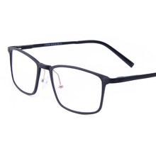 Alta Qualidade TR90 Óculos de Armação Limpar Lens Moda Homens lentes de  Prescrição de Óculos Ópticos Óculos de Miopia Quadro Mas. c2d122172a