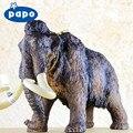 ПАПО Бренд Ледниковый период Мам-мотылек Модели Животных Игрушки Для Взрослых Фигурки Гараж Ребенком Смолы Парк Юрского Периода Моделирования Динозавров украшения