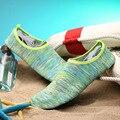 À prova d' água de natação shoes mulheres e homens de fitness casual running shoes ao ar livre anti-escorregadio slip-on sapato praia tamanho 25-44