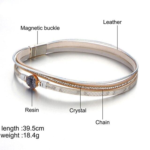Новый многослойный женский браслет janeyacy в европейском стиле