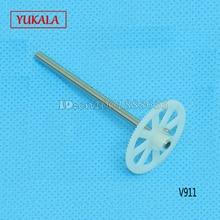 Free shipping Wholesale WL V911 V911-1 V911-2 spare parts Main Shaft With Gear V