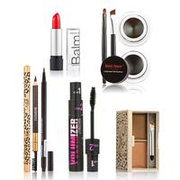 HUAMIANLI 6 teile/satz Kosmetik Set Mascara Eyeliner gel Augenbrauenstift mit Pinsel Lippenstift Pulver Augenbraue Make-Up Set Maquiagem Z3