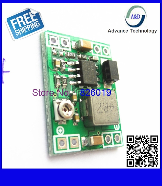 Best quality 1pcs Ultra-small power supply module DC / DC BUCK 3A adjustable 3V 5V 16V over MP1584EN replace Lm2596