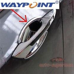 Chrome drzwi zarysowania uchwyt puchar miska dla Acura TSX 09-10