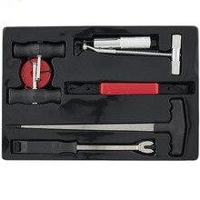 Conjunto de ferramentas de remoção de vidro automotivo, 7 peças, conjunto de ferramentas para remoção de para brisa automático