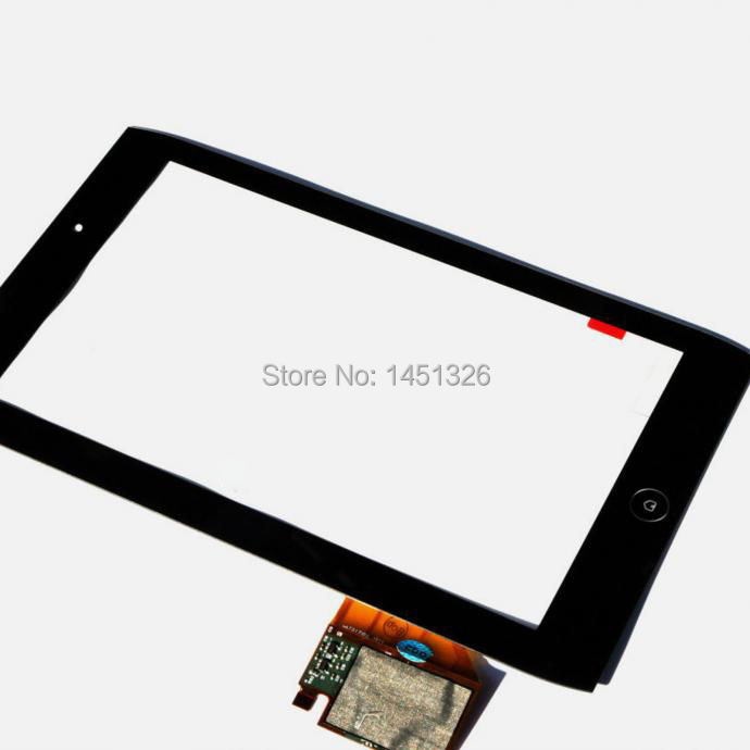 For Acer Iconia Tab A100 A101 Front Panel Touch Screen Digitizer Glass Repair Parts original new 10 1 inch touch panel for acer iconia tab a200 tablet pc touch screen digitizer glass panel free shipping