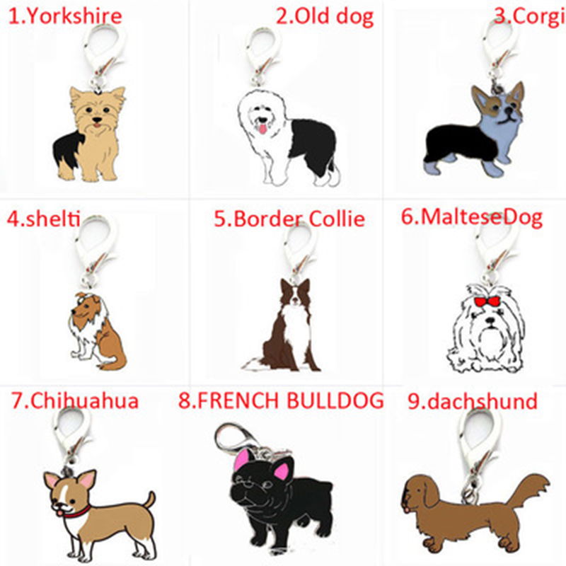 New Painted Pet Pendant  High Quality Pet Pendant Pet Keychain Pet Decorations  Variety Suitable For All Kinds Of Dogs