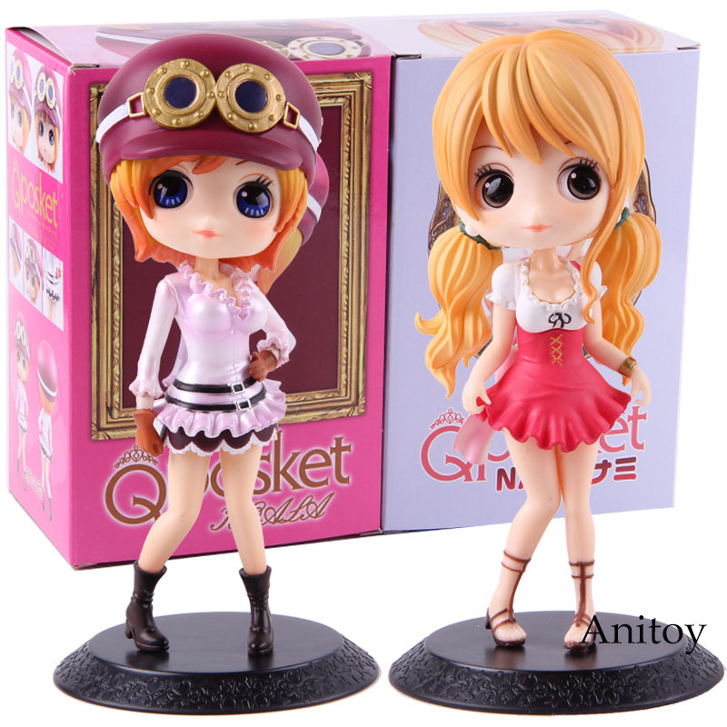 Q posket Hot Toys Anime One Piece Nami Koala Action Figure Collectible Model Toy Gift