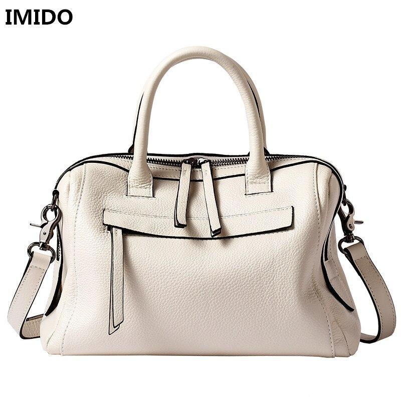 2018 Brand Design Women Bags Genuine Cow Leather Solid Color Women Handbags Elegant Beauty Women's Messenger Bags Crossbody Bag sweet women s crossbody bag with solid color and pu leather design