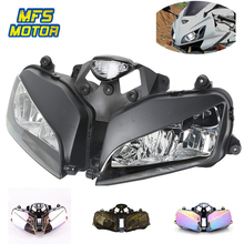 цена на Headlight For 03-06 Honda F5 CBR600RR CBR 600 RR Motorcycle Front Lamp Assembly Upper Head Light Housing 2003 2004 2005 2006