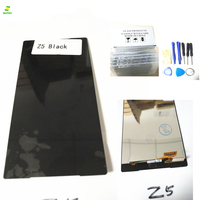 Mobile Phone LCDs 100 Tested For Sony Z5 LCD Display Touch Screen With Digitizer Full Assembly