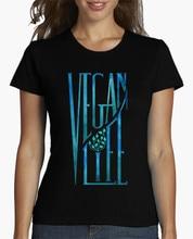 """""""Vegan Life"""" girlie / women's shirt"""