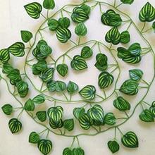 Plastic Artificial Ivy Leaf for Reptile Amphibian Simulation Plants Decor