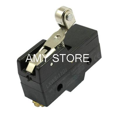 Lxw5-11g2 Momentary 1no 1nc Spdt Long Roller Hinge Lever Microswitch Limit Switch Crease-Resistance Lights & Lighting