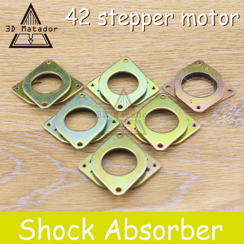 Hot sale 1pcs Nema 17 stepper motor Vibration Damper shock absorber for 3D Printer parts 42