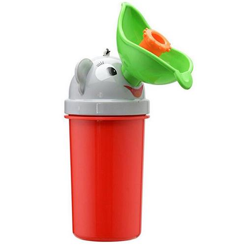 Portable Urinoir Toilettes Pot Formation Bébé Enfants En Bas Âge Fille De Voiture Voyage Pipi Rouge