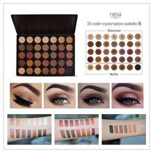 Cruelty Free High Pigmentation Eye Makeup Palette 35 Colors