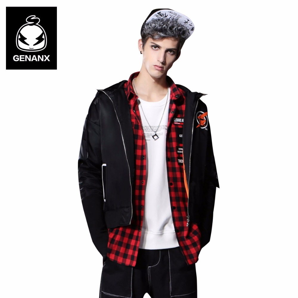 Genanx Brand Hooded  Thick Parkas Man Loose Clothing  Winter  Couples Outerwear Coats Size M-XXL colm toibin the empty family