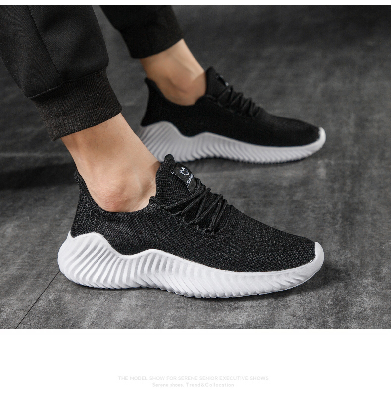 HTB1j2boP9zqK1RjSZFHq6z3CpXap KJEDGB 2019 New Ultralight Men Casual Shoes Solid Black White Gray Breathable Comfortable Sneakers Big Size 39-47 Male Shoes