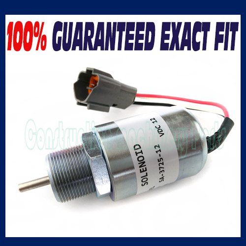 Stop solenoid 30A87-00040 for Mitsubishi S3L2-61SD S3L2-61SDH S4L2-61SD S4L2-61SDH - Free shipping mitsubishi heavy industries srk25zjx s src25zjx s