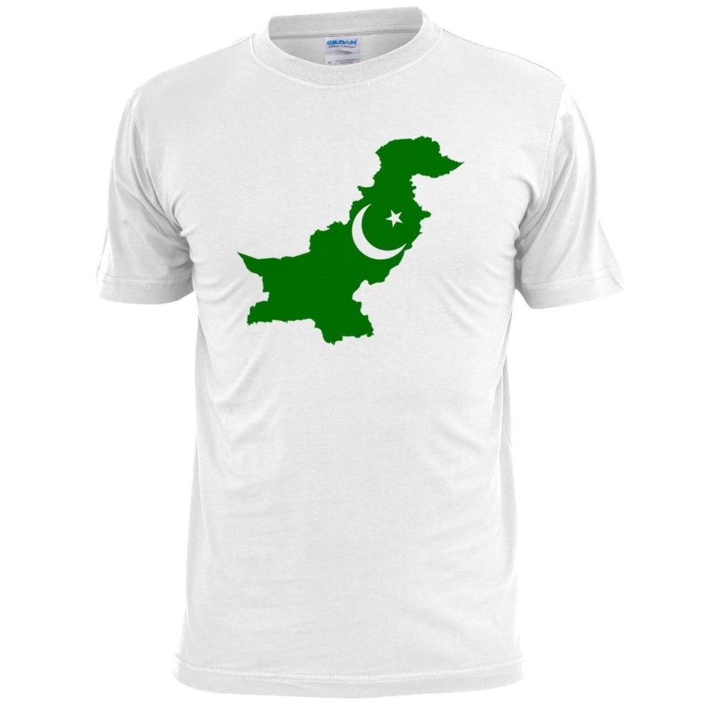 Pakistan Map Mens T Shirt Cricket Sport 2018 Brand T Shirt Men