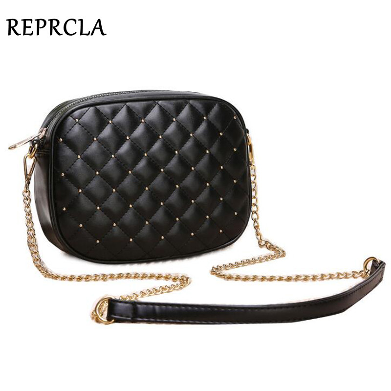 Hot Sale Women Messenger Vesker Brand Designer Skuldertasker Rivet Chain Strap Crossbody Vesker For Women Bolas Feminina