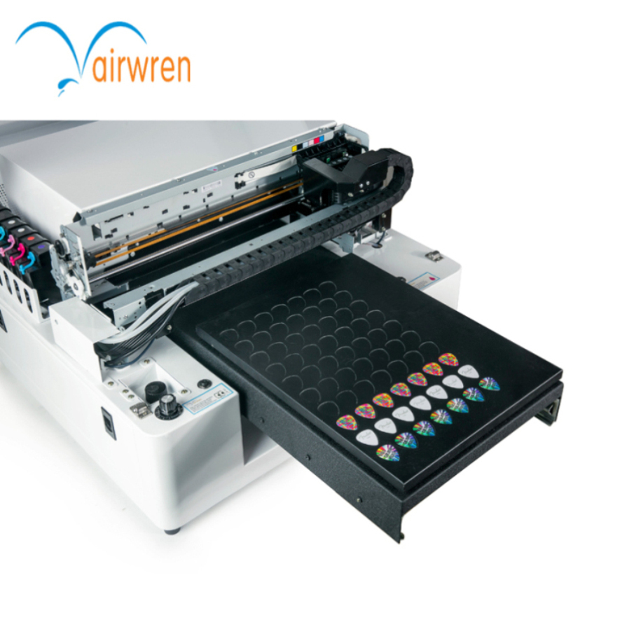 small uv printer A3 UV Printer manufacture acrylic uv printing machine and wholesale price of vinyl plastic uv printer embossed effect a3 led uv printer uv flatbed printing machine for candle printing