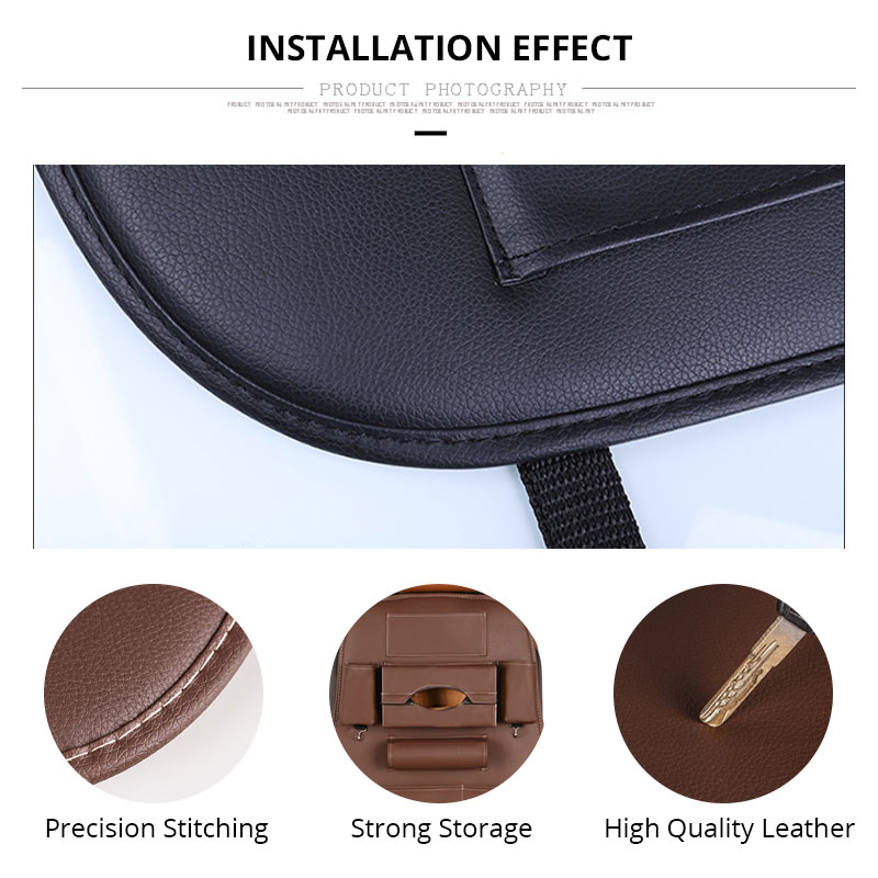 Car Seat Back Storage Bag Universal PU Leather Seats Organizer Travel Box Pocket Stowing Tidying Protector Kids Auto Accessoires (3)
