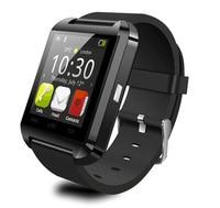 Gratis verzending Nieuwe Mode U8 Bluetooth Smart Horloge Mobiele Telefoon Sync Bluetooth Telefoontje Stap Motion Smart Horloge